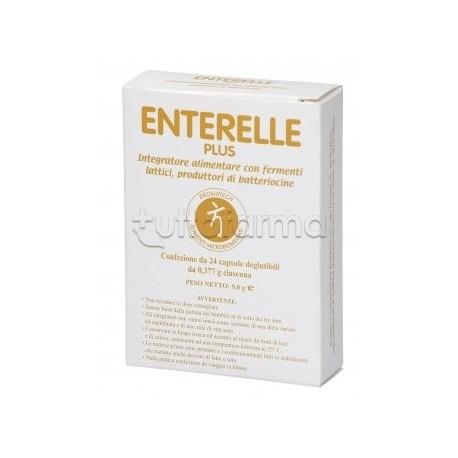 Enterelle Plus Bromatech Fermenti Lattici Confezione Doppia 24 Capsule