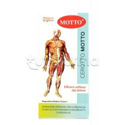 Cerotto Motto Cerotto per Dolori Muscolari e Articolari 2 Pezzi