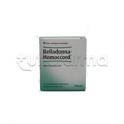 Belladonna Injeel Heel Guna 10 Fiale Medicinale Omeopatico 1,1ml