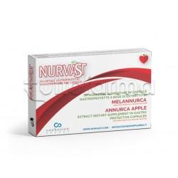 Nurvast Integratore con Mela Annurca per Colesterolo 30 Capsule