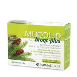 Mucolid Bronc 600 Plus per Tosse Grassa 14 Buste