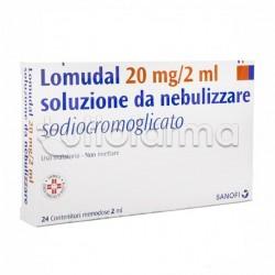 Lomudal Soluzione per Aerosol 24 Fiale 20 mg 2ml