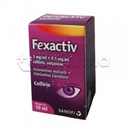Fexactiv Collirio per Allergia e Occhi Rossi 10ml