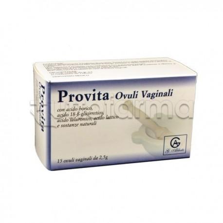 Provita Ovuli Vaginali 15 Pezzi