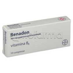 Benadon 10 Compresse 300 Mg
