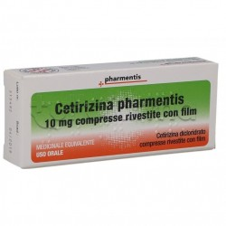 Cetirizina Ratiopharm Antistaminico 7 Cpr Rivestite 10 Mg
