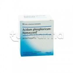 Phosphoricum Ac Homaccord Heel Guna 10 Fiale Medicinale Omeopatico