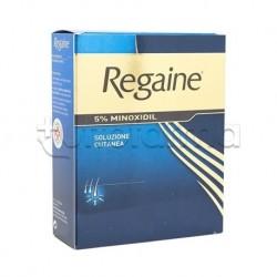Regaine Soluzione 60 ml 5% Minoxidil per Ridurre Caduta Capelli