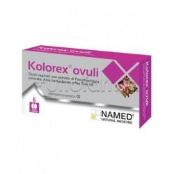 Named Kolorex Ovuli Vaginali 6 Pezzi