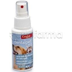 DentalPet Spray Orale alla Clorexidina per Cani e Gatti 125ml