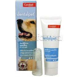 DentalPet Dentifricio per Cani e Gatti Tubetto 50ml