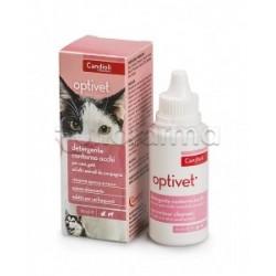 Optivet Detergente Oculare per Cani e Gatti Flacone 50ml