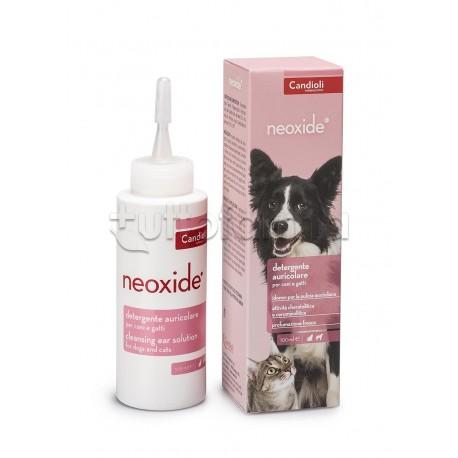 Neoxide Detergente per Orecchie di Cani e Gatti Flacone 100ml