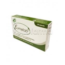 Eumetab Integratore per Abbassare Glicemia 30 Capsule