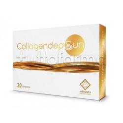Collagendep Sun Integratore per Esposizione Solare 20 Compresse