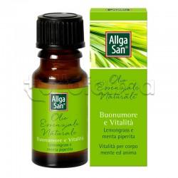 Allga San Olio Essenziale Buonumore Vitalità 10ml