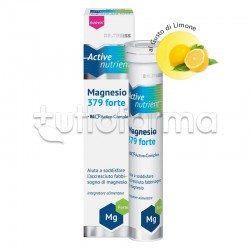 Dr.Theiss Active Nutrient Magnesio 379 Forte 20 Compresse Effervescenti