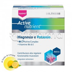 Dr.Theiss Active Nutrient Magnesio E Potassio 20 Bustine