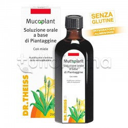 Dr.Theiss Mucoplant Piantaggine Soluzione Per Tosse E Catarro 250ml