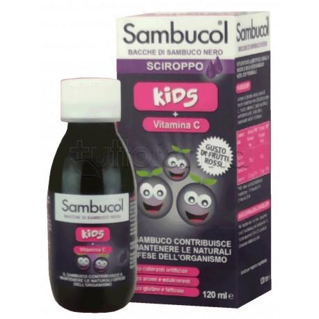 Sambucol Kids Sciroppo per Difese Immunitarie Bambini 120ml