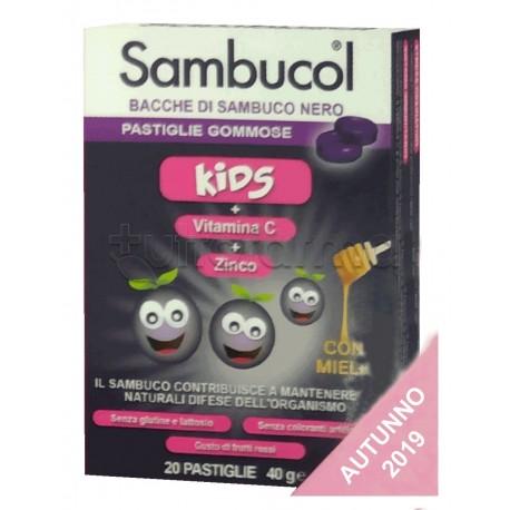 Sambucol Kids per Difese Immunitarie Bambini 20 Pastiglie Gommose