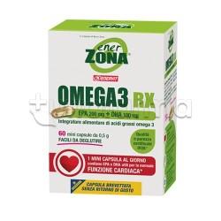 Enerzona Omega3 RX Integratore Omega3 per Benessere Cuore 60 Capsule