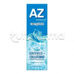 Az Complete White Dentifricio + Collutorio Sbiancante 75 Ml