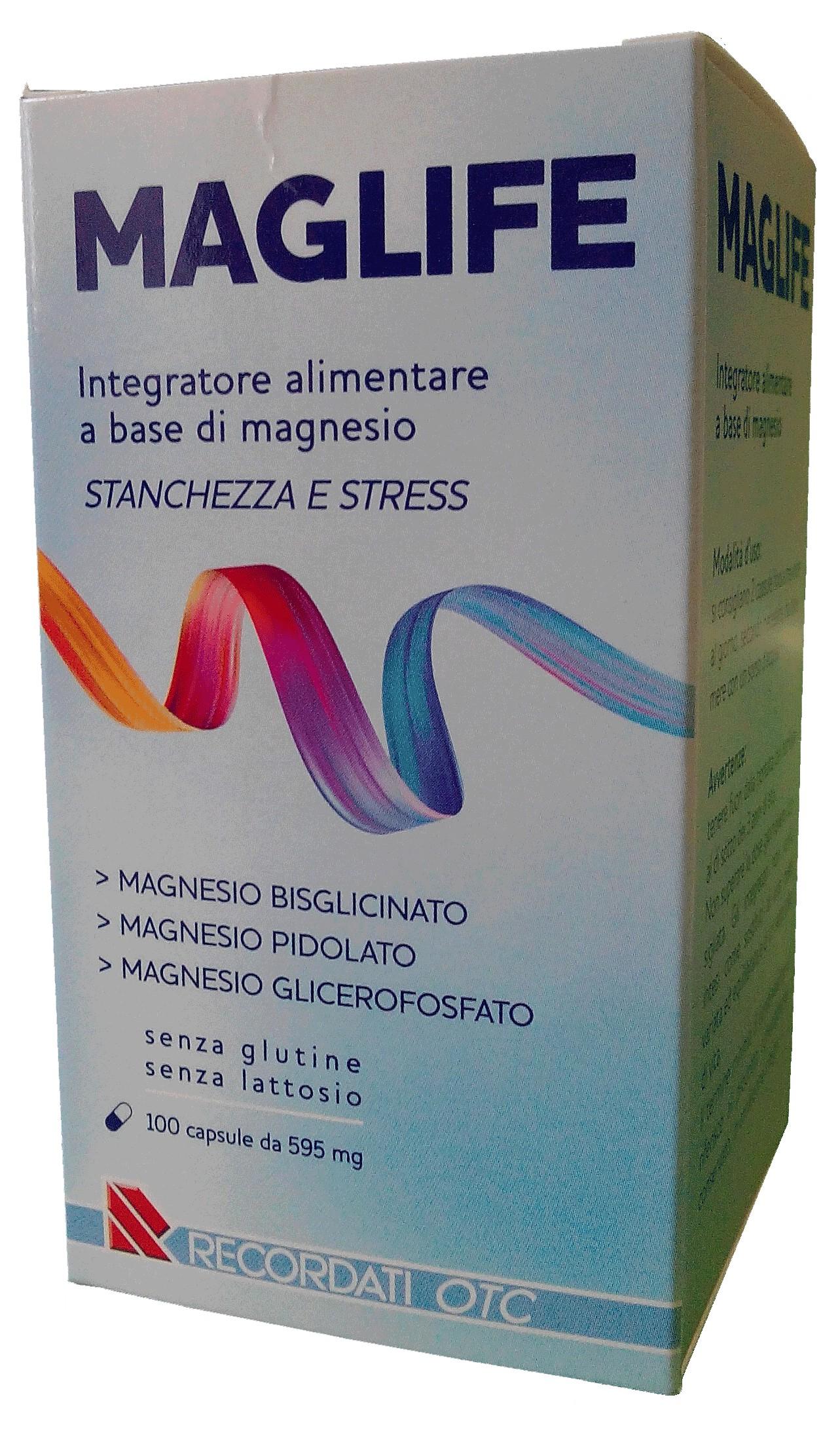 Maglife Integratore Magnesio Per Stanchezza 30 Bustine