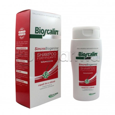 Bioscalin Shampoo Volumizzante Anticaduta Con SincroBiogenina 200 ml