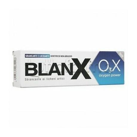 Blanx O3X Oxygen Power Dentifricio Lucidante e Sbiancante 75ml