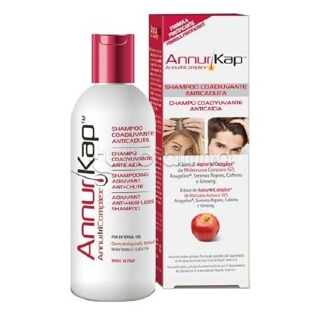 AnnurKap Shampoo Contro la Caduta dei Capelli con Mela Annurca 200ml
