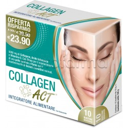 Collagen ACT Integratore Collagene Per Pelle 10 Bustine