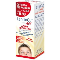 Lendinout ACT Preventivo Pidocchi Spray 100ml