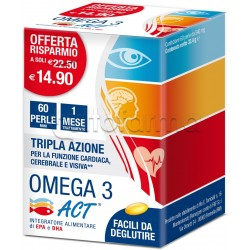 Omega 3 ACT 60 Perle 540mg