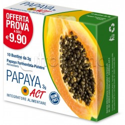 Papaya ACT Integratore Antiossidante 10 Bustine 3gr