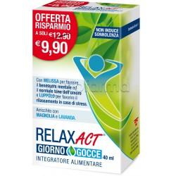 Relax ACT Giorno Gocce Rilassanti Naturali 40ml