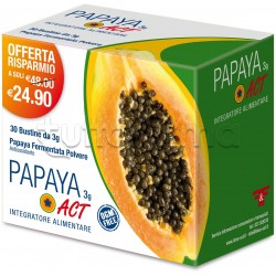 Papaya ACT Integratore Antiossidante 30 Bustine 3gr