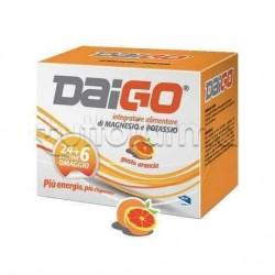 Daigo Magnesio e Potassio Gusto Arancia 24 Bustine