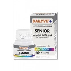 DailyVit+ Senior Vitamine per Adulti dai 50 Anni 30 Compresse