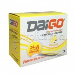 Daigo Magnesio e Potassio Gusto Limone 24 Bustine