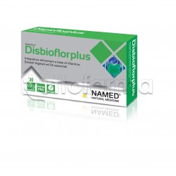 Named Disbioflor Plus per Gonfiore e Digestione 30 Compresse
