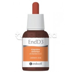 End D3 Integratore Vitamina D per Ossa 30ml