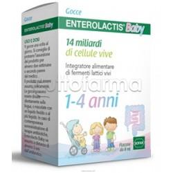 Enterolactis Baby Gocce Fermenti Lattici per Bambini 8ml