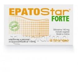 Epatostar Forte Integratore per Fegato e Depurativo 20 Compresse