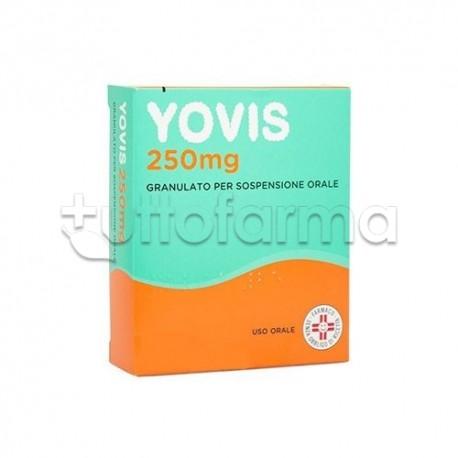Yovis Granulato 10 Bustine 250 mg per Bambini Fermenti Lattici per Diarrea e Disturbi Intestinali