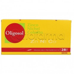IMO Labcatal Oligosol Oligoelementi Zinco/Nichel/Cobalto 28 Fiale 2 ml