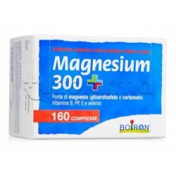 Boiron Magnesium 300+ Integratore per Stanchezza 160 Compresse