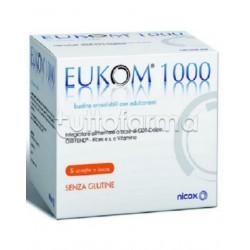 Eukom 1000 Integratore per Occhi e Vista 60 Bustine Orosolubili