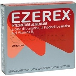 Ezerex Integratore con Vitamine ed Aminoacidi 20 Bustine