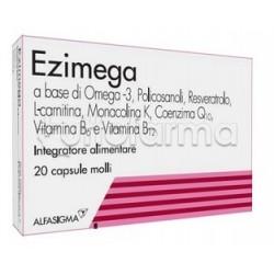 Ezimega Integratore per Colesterolo 20 Capsule Molli